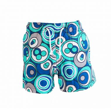 Boys Beach and Bush Shorts - Cirlces 2