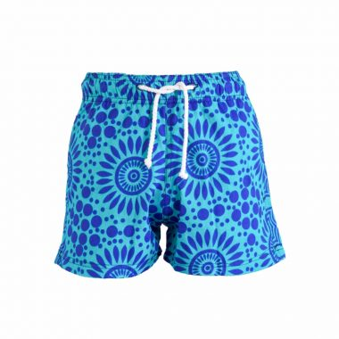 Boys Beach and Bush Shorts - Light Blue 1