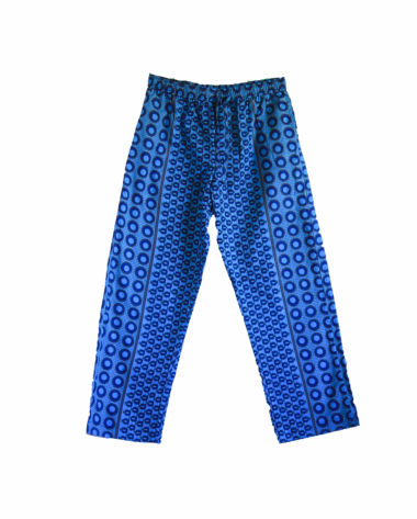 Rock and Stones Blue Circles Zzz Pants