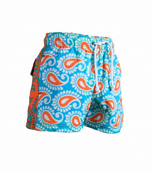 Rock and Stones Boys Beach and Bush Shorts Bright Blue and Orange 1 (89 of 126)