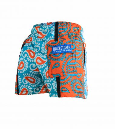 Rock and Stones Boys Beach and Bush Shorts Bright Blue and Orange 2 (90 of 126)