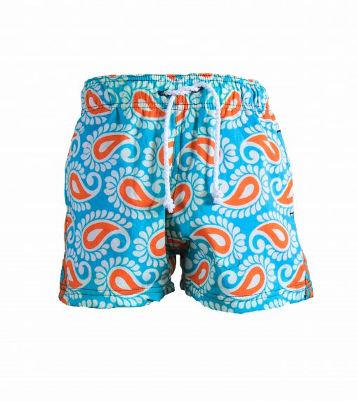Rock and Stones Boys Beach and Bush Shorts Bright Blue and Orange 3 (88 of 126)