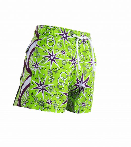 Rock and Stones Boys Beach and Bush Shorts Lime Green and Purple 1 (77 of 126)