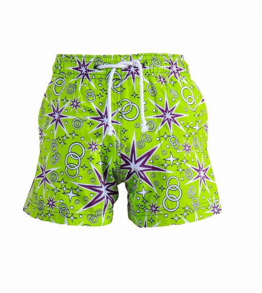Rock and Stones Boys Beach and Bush Shorts Lime Green and Purple 3 (76 of 126)