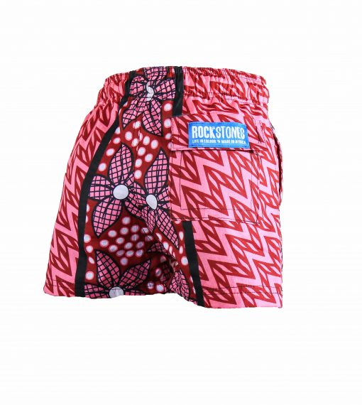 Rock and Stones Boys Beach and Bush Shorts Red and Pink flowers 1 (87 of 126)