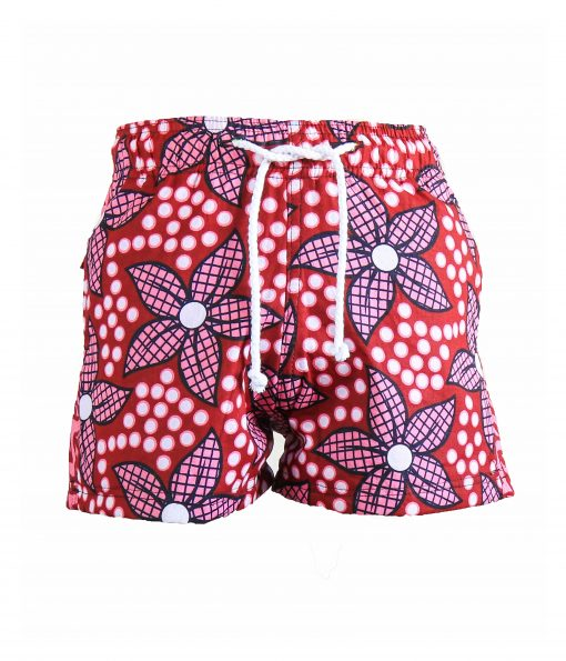 Rock and Stones Boys Beach and Bush Shorts Red and Pink flowers 2 V3 (85 of 126)