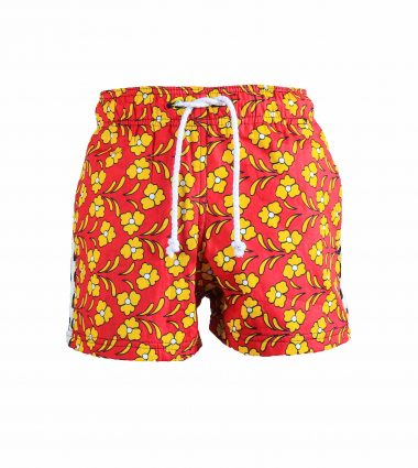 Rock and Stones Boys Beach and Bush Shorts Red and Yellow flowers 2 (91 of 126)