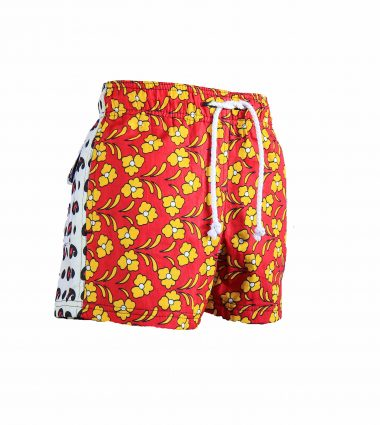 Rock and Stones Boys Beach and Bush Shorts Red and Yellow flowers 3 (92 of 126)