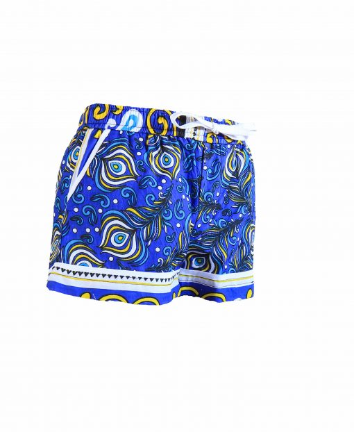 Rock and Stones Girls Beach and Bush Shorts Blue Peacock 1