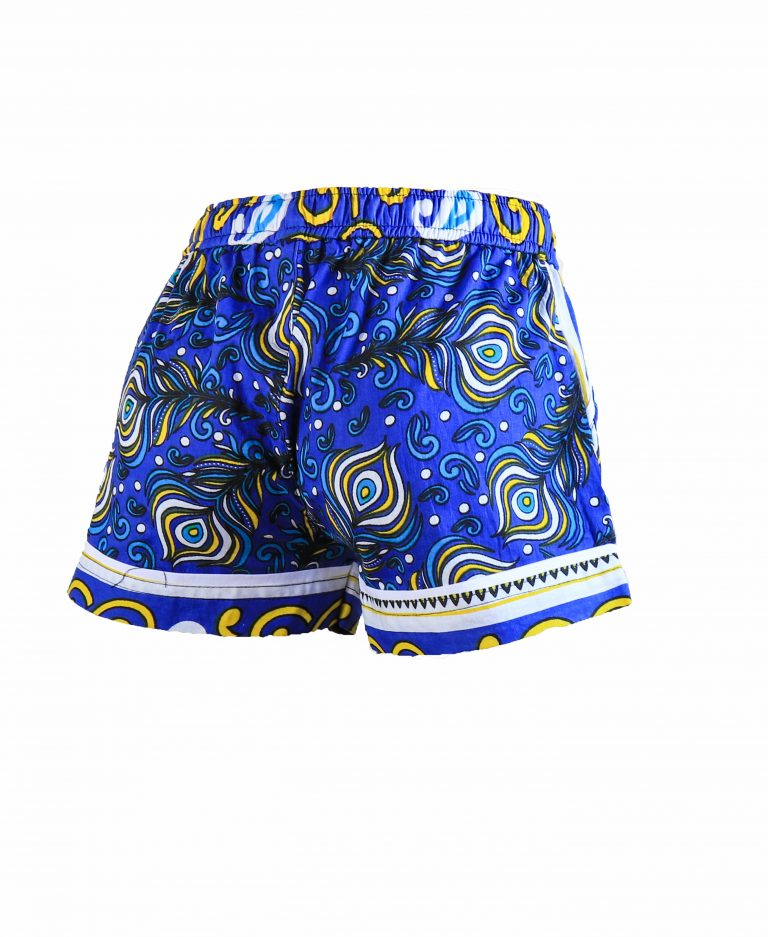 Rock and Stones Girls Beach and Bush Shorts Blue Peacock 2
