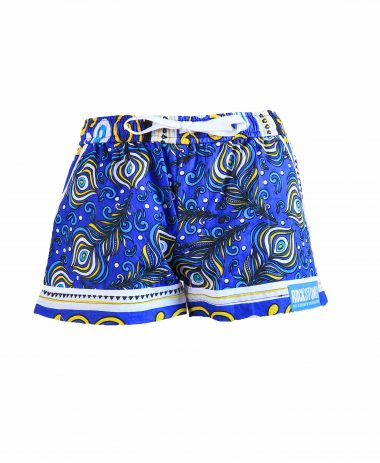 Rock and Stones Girls Beach and Bush Shorts Blue Peacock 3