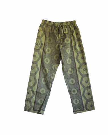 Rock and Stones Green and Brown Zzz Pants