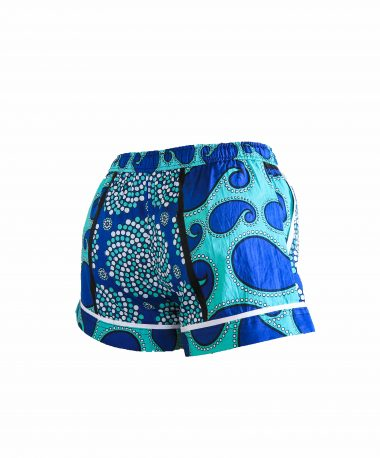 Rock and Stones Ladies Beach and Bush Shorts Light Blue and Dark Blue 1 (57 of 126)