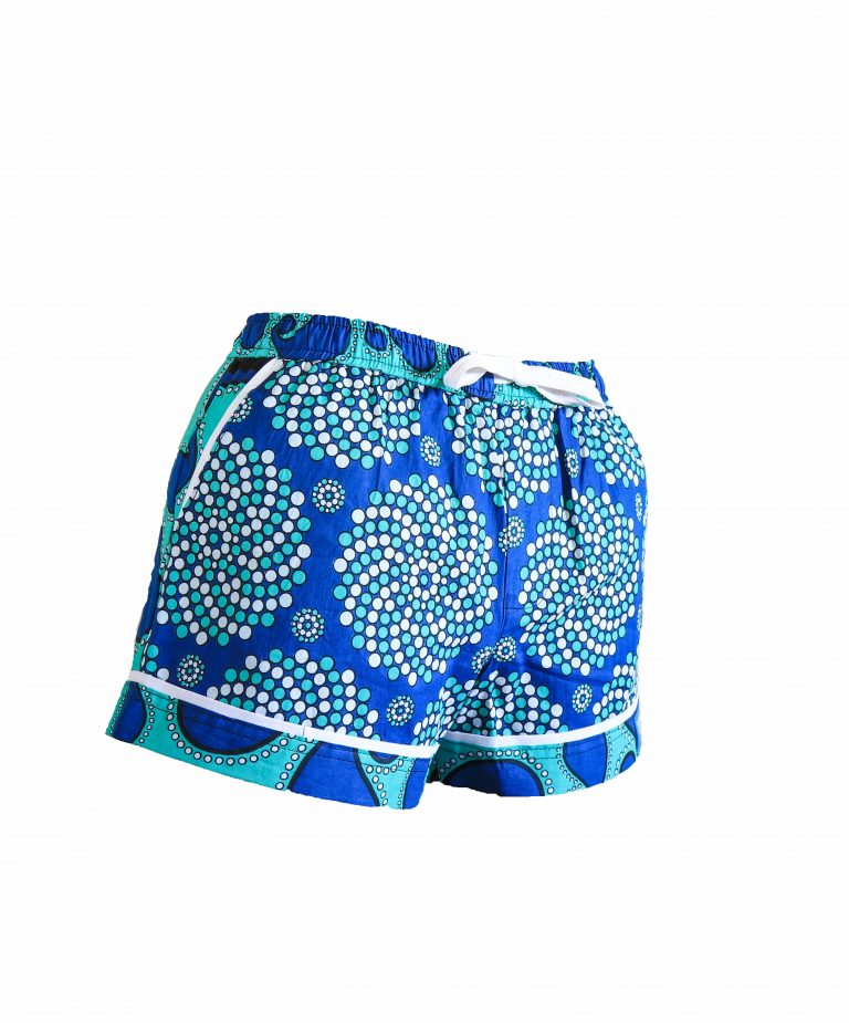 Rock and Stones Ladies Beach and Bush Shorts Light Blue and Dark Blue 3 (56 of 126)