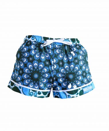 Rock and Stones Ladies Beach and Bush Shorts Light Blue and Green 3 (58 of 126)