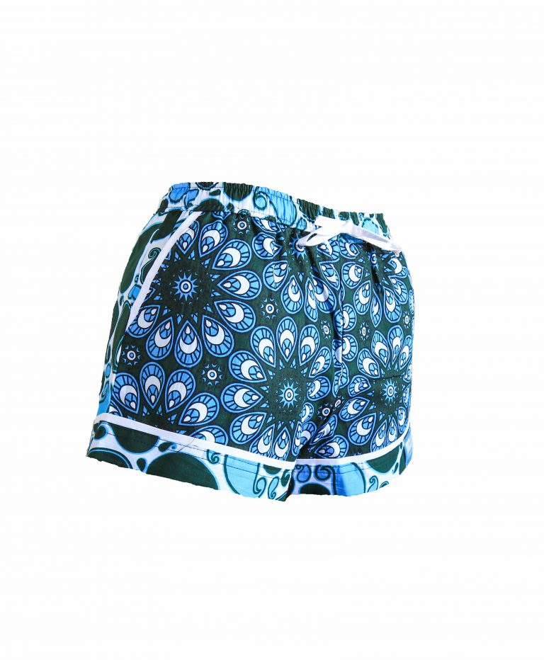 Rock and Stones Ladies Beach and Bush Shorts Light Blue and Green V2 (59 of 126)