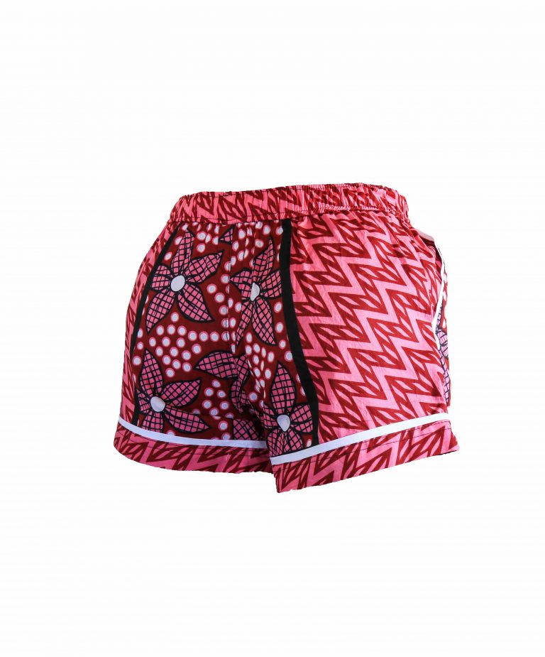 Rock and Stones Ladies Beach and Bush Shorts Red and Pink 2 (42 of 126)