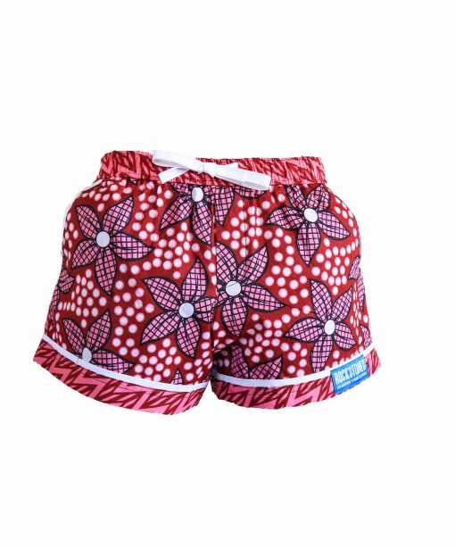 Rock and Stones Ladies Beach and Bush Shorts Red and Pink 3(40 of 126)