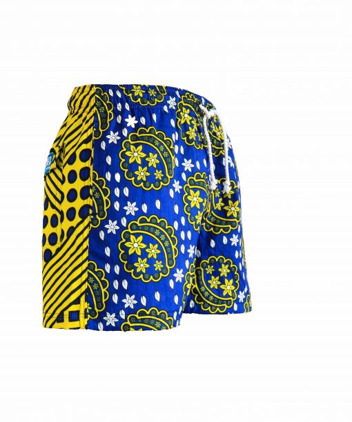 Rock and Stones Mens Beach and Bush Shorts blue & yellow 1 (1 of 126)