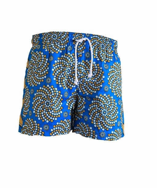 Rock and Stones Boys Beach and Bush Shorts bright blue 1 1