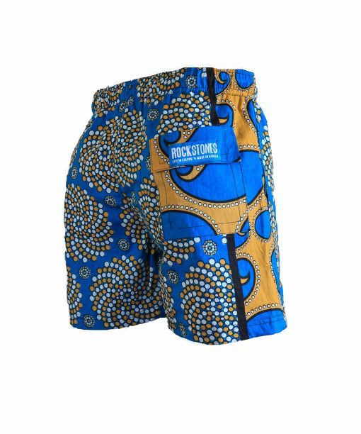Rock and Stones Boys Beach and Bush Shorts bright blue 3