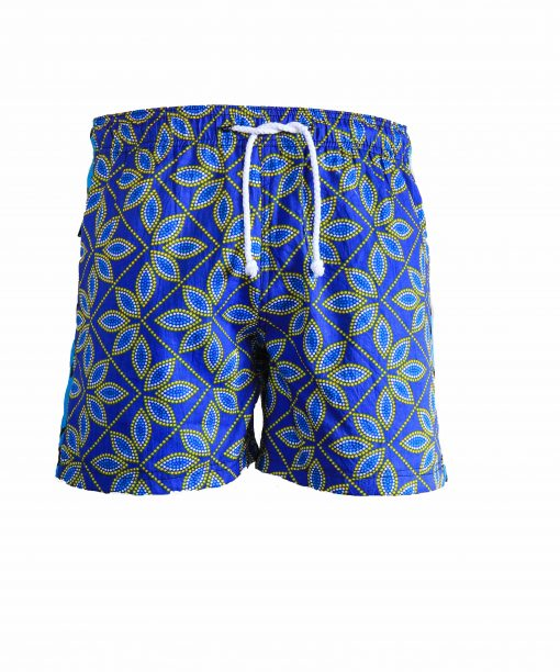 Rock and Stones Boys Beach and Bush Shorts dark blue & brown 1