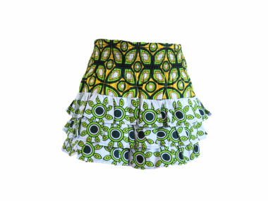 Rock and Stones RaRa Skirts Green and Yellow