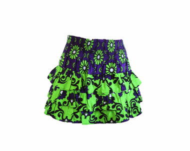 Rock and Stones RaRa Skirts Purple & Green