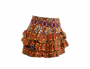 Rock and Stones RaRa Skirts Red & Orange