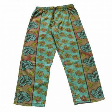 Rock and Stones Zzz Pants - Green & Brown