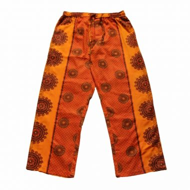 Rock and Stones Zzz Pants - Orange & Red