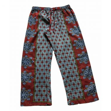 Rock and Stones Zzz Pants - Red & Grey